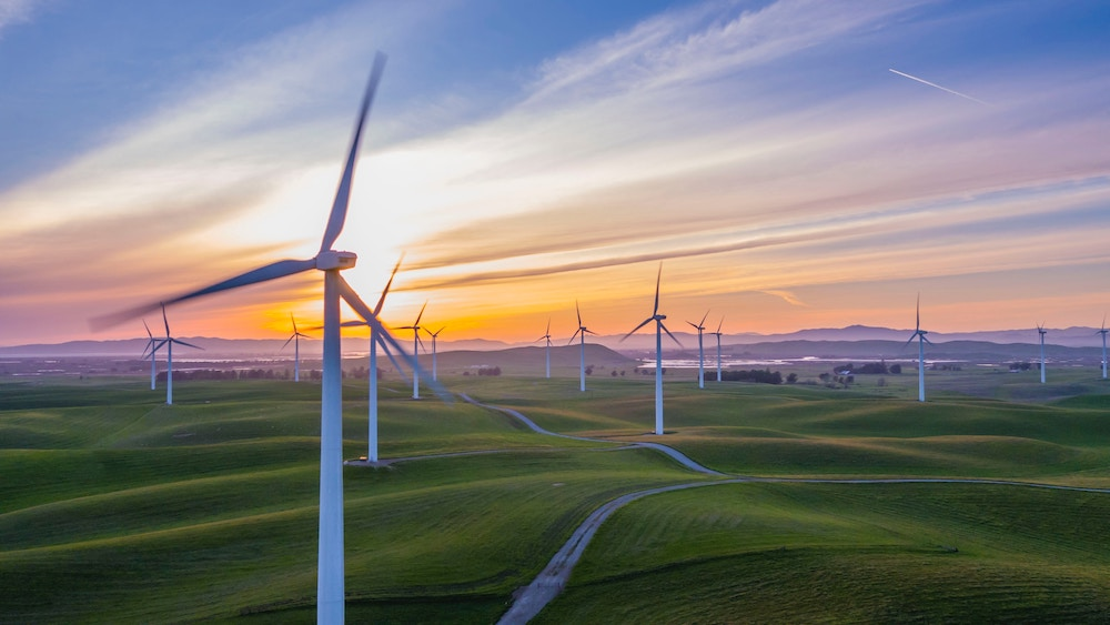 Wind farms rural communities